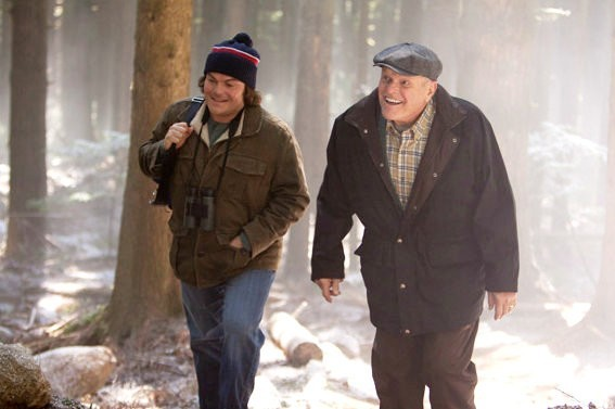 Brian Dennehy e Jack Black in The Big Year