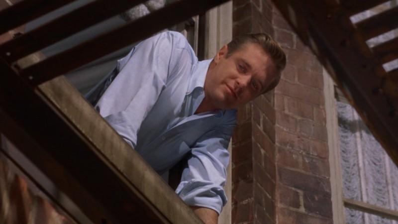 Colazione da Tiffany: George Peppard nei panni di Paul in una scena del film