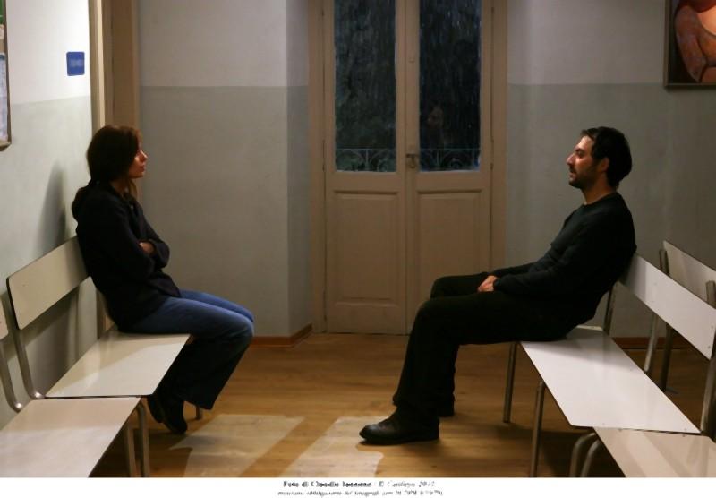 Filippo Timi e Claudia Pandolfi sono Marina e Manfred in Quando la notte
