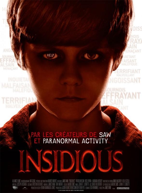 Insidious: la locandina francese del film