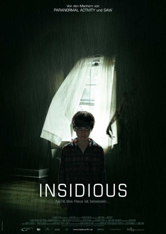 Insidious: la locandina tedesca del film