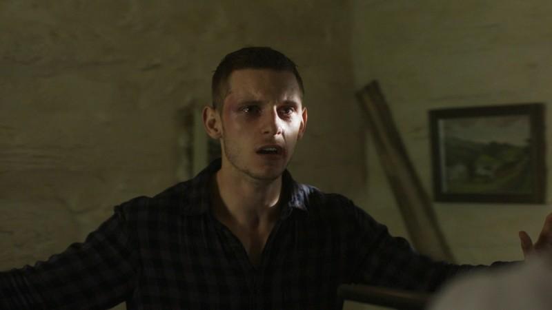 Jamie Bell interpreta Jack nel film Retreat