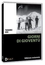 La copertina di Giorni di gioventù (dvd)