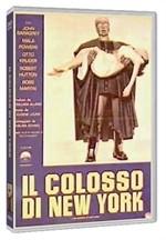 La copertina di Il colosso di New York (dvd)