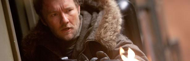 La Cosa: Joel Edgerton nei panni di Sam Carter in una scena del film