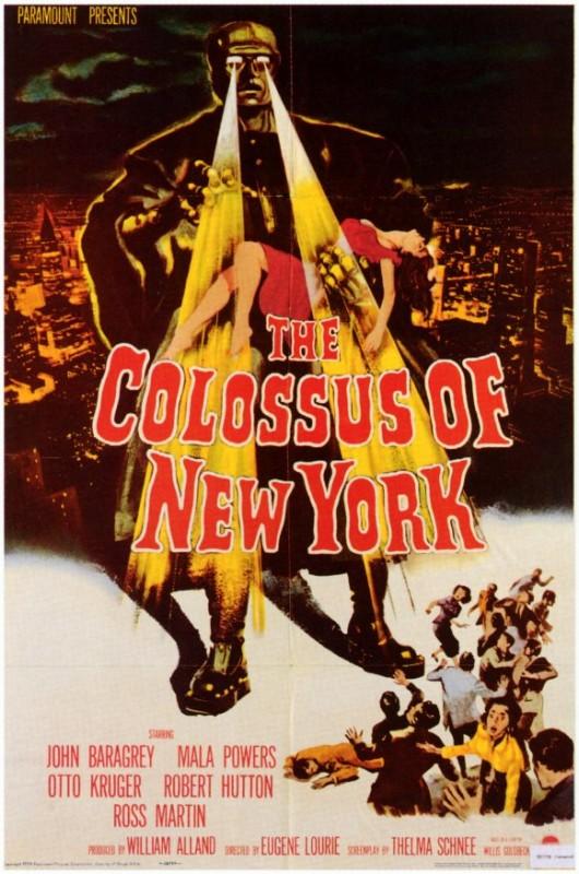 La locandina di Il colosso di New York