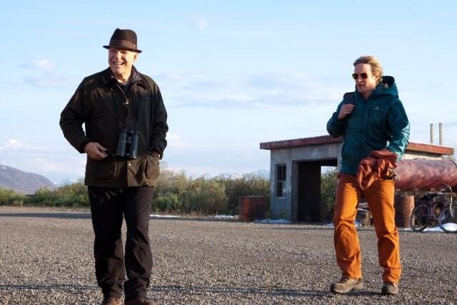 Owen Wilson e Steve Martin birdwatchers accaniti in The Big Year