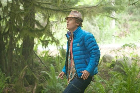Owen Wilson in The Big Year: una scena del film