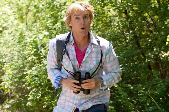 Owen Wilson in The Big Year: una scena della commedia