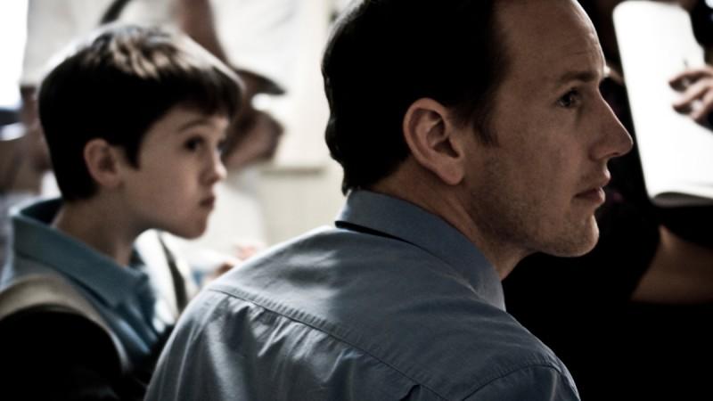 Patrick Wilson è Josh Lambert in una scena del thriller horror Insidious