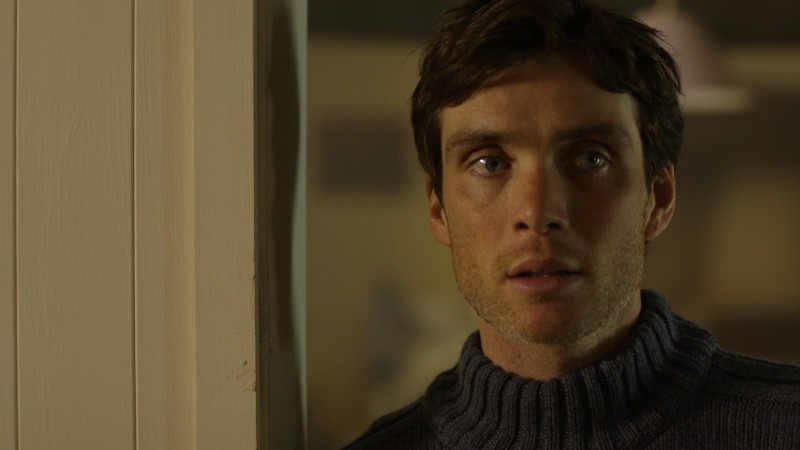 Primo piano di Cillian Murphy nel thriller Retreat, del 2011