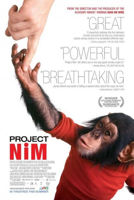 Project Nim: il poster internazionale del film