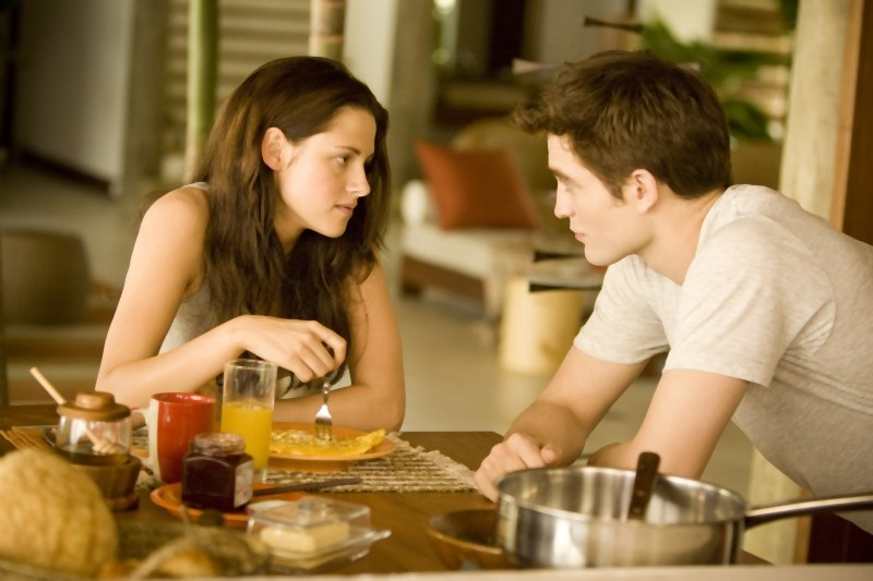 Robert Pattinson e Kristen Stewart protagonisti di The Twilight Saga: Breaking Dawn - Parte I