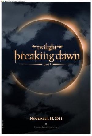 The Twilight Saga: Breaking Dawn - Parte 1, un poster del film