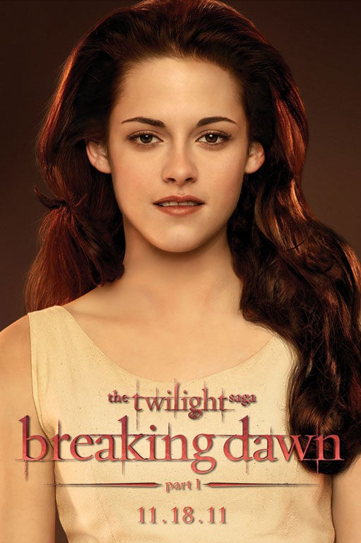 The Twilight Saga: Breaking Dawn - Parte 1, un poster incentrato su Kristen Stewart