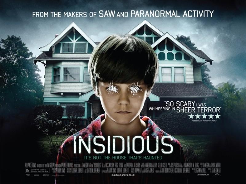 Un bellissimo wallpaper del film Insidious