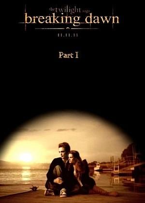 Un suggestivo poster di The Twilight Saga: Breaking Dawn - Parte 1