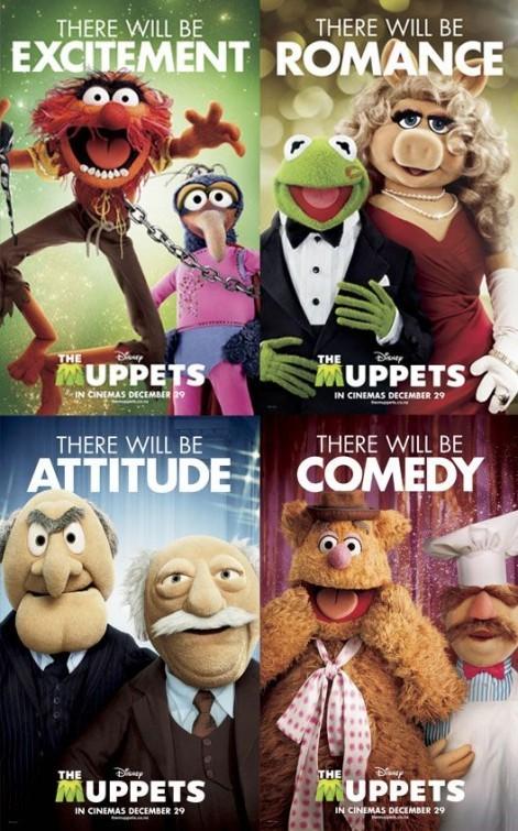 I Muppet: un nuovo, divertente poster USA