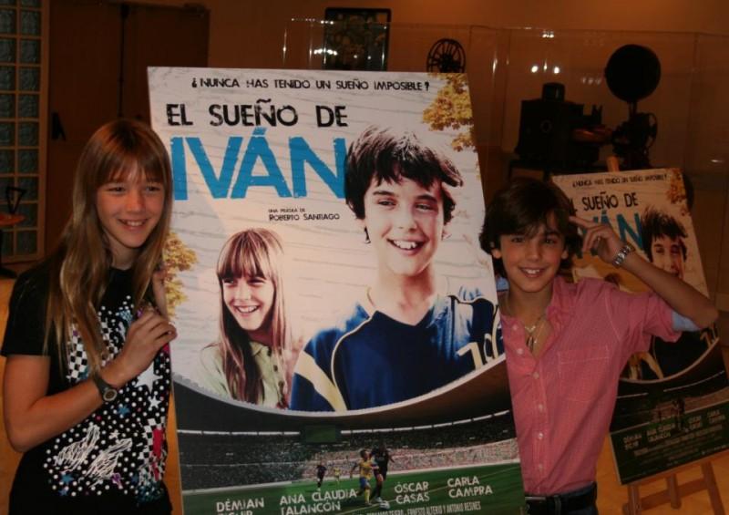 Oscar Casas e Carla Campra presentano El sueño de Iván