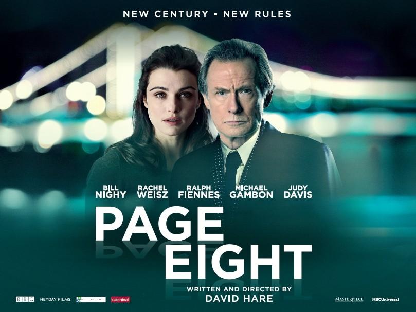 Un poster del film Page Eight di David Hare