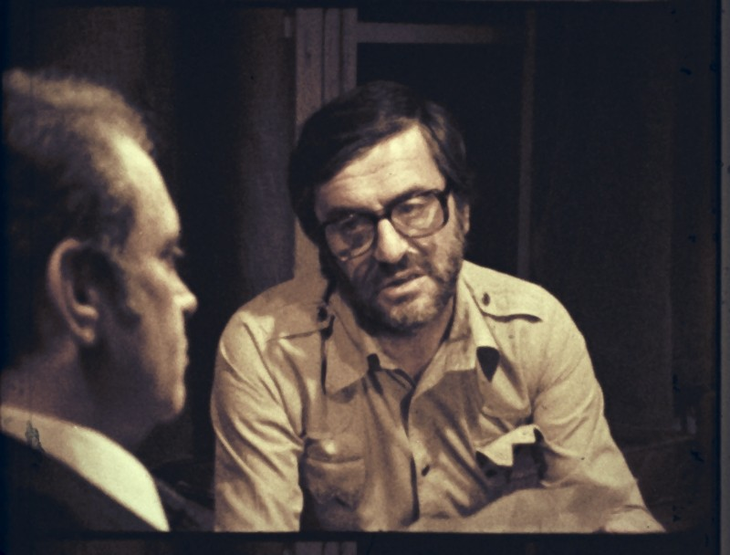 Alessandro Sperlì e Lelio Luttazzi in una scena de L'illazione