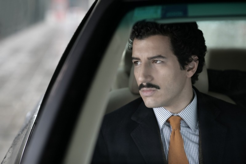 Francesco Scianna in una scena del film L'industriale di Giuliano Montaldo