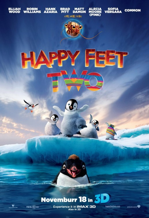 Happy Feet 2: nuovo poster USA