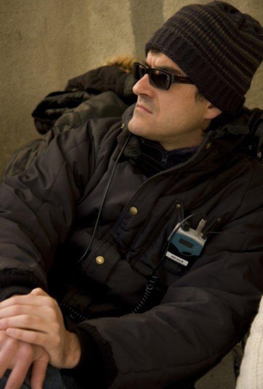 I primi della lista: un'immagine dal set del regista Roan Johnson