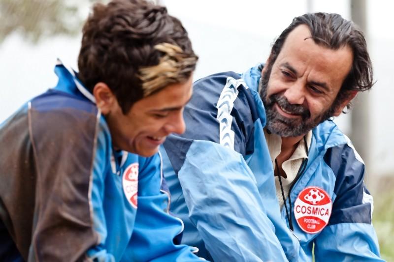 Luca Schipani e Nicola Rignanese in una scena de Il paese delle spose infelici