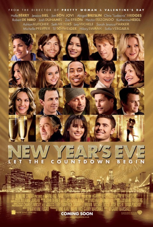New Year's Eve: poster inglese