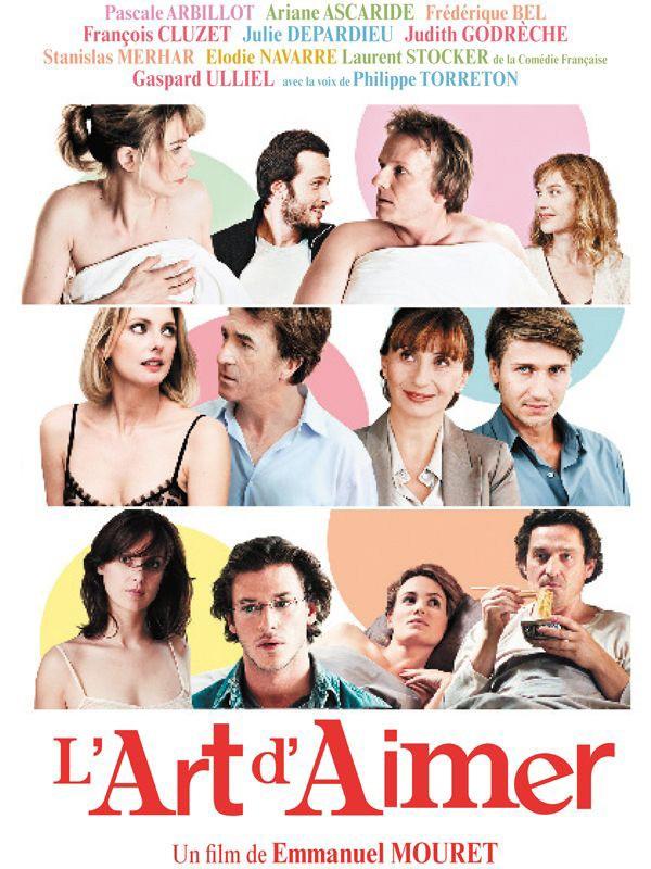 The Art of Love (L'art d'aimer): locandina francese