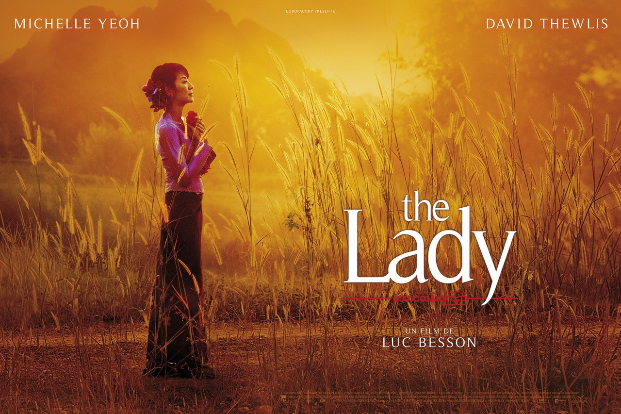 Un bellissimo wallpaper di The Lady di Luc Besson
