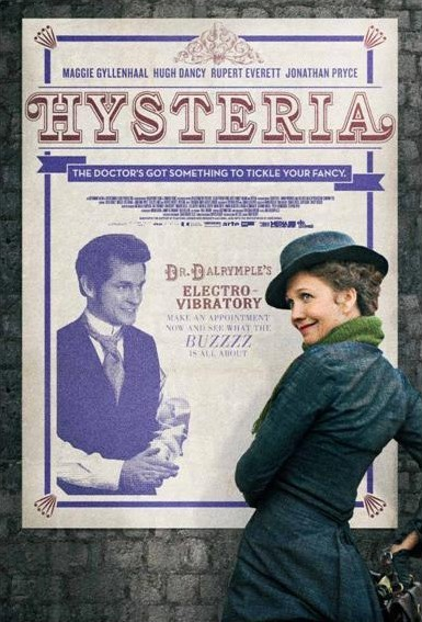 Un poster di Hysteria, il film diretto da Tanya Wexler