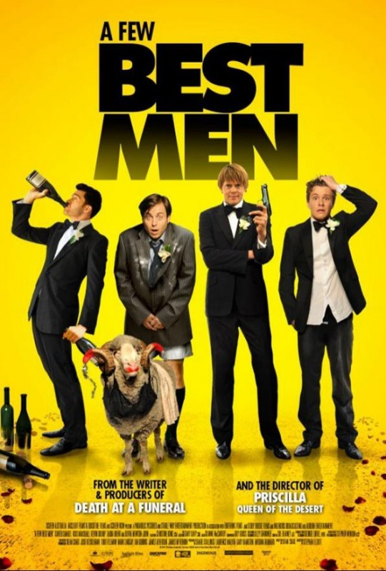 A few best men, un poster del film