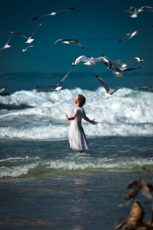 Charlotte Rampling in una splendida scena di The eye of the storm