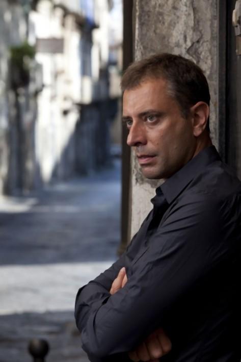 Il regista Ivan Cotroneo sul set del film La kryptonite nella borsa