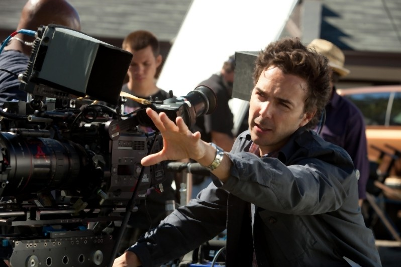 Il regista Shawn Levy sul set del film Real Steel