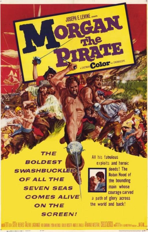 La locandina di Morgan il pirata