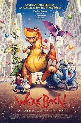 La locandina di We're Back - 4 dinosauri a New York