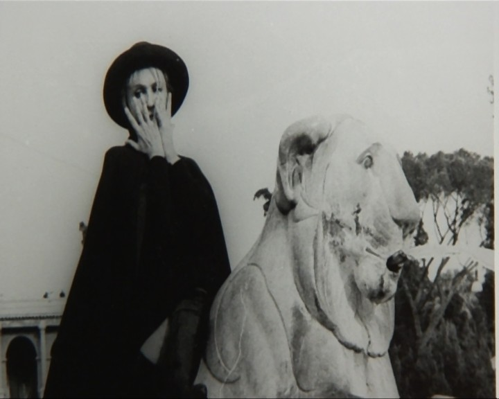 Laura Betti in un'immagine del 1968 tratta dal documentario La passione di Laura di Paolo Petrucci