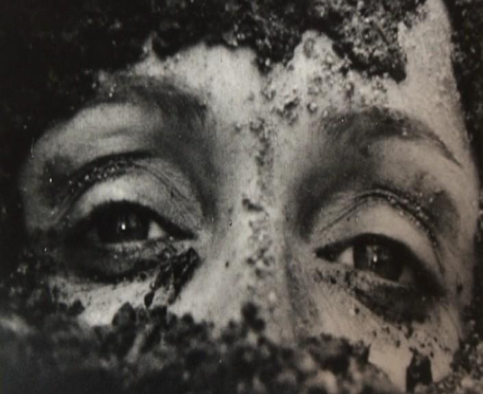Laura Betti in un'immagine di Teorema di Pasolini tratta dal documentario La passione di Laura