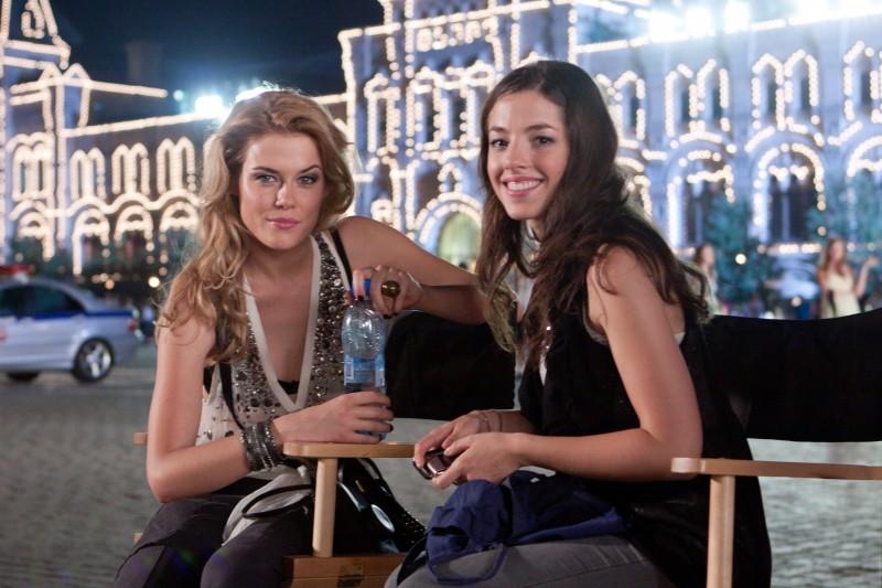 Rachel Taylor e Olivia Thirlby si preparano al prossimo ciak sul set de L'ora nera