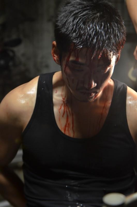 Una scena tratta dal film Poongsan