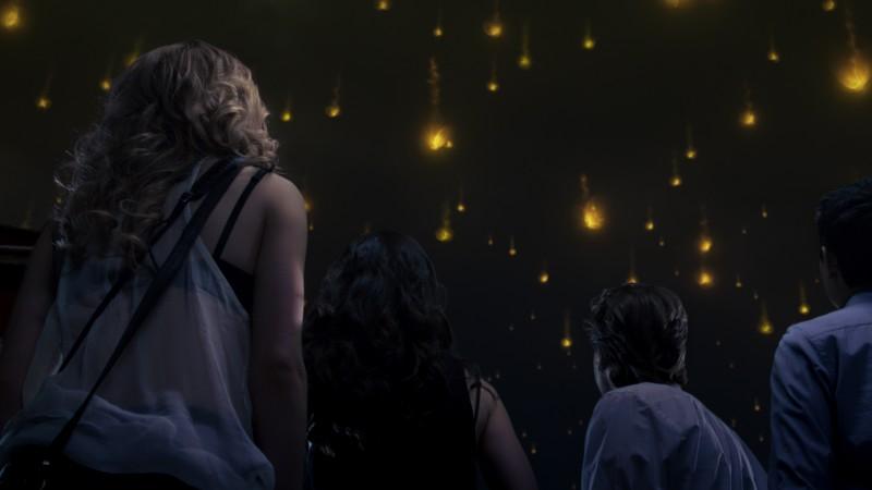 Una suggestiva immagine tratta da una scena del film L'ora nera