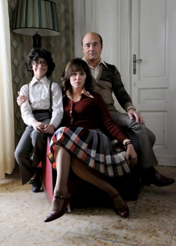Valeria Golino e Luca Zingaretti insieme al piccolo Luigi Catani protagonisti de La kryptonite nella borsa di Ivan Cotroneo