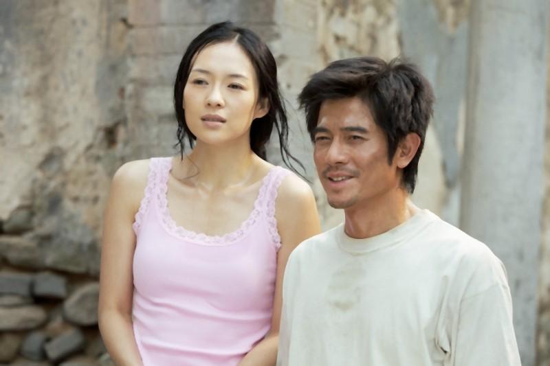Zhang Ziyi e Aaron Kwok nel film Love for life