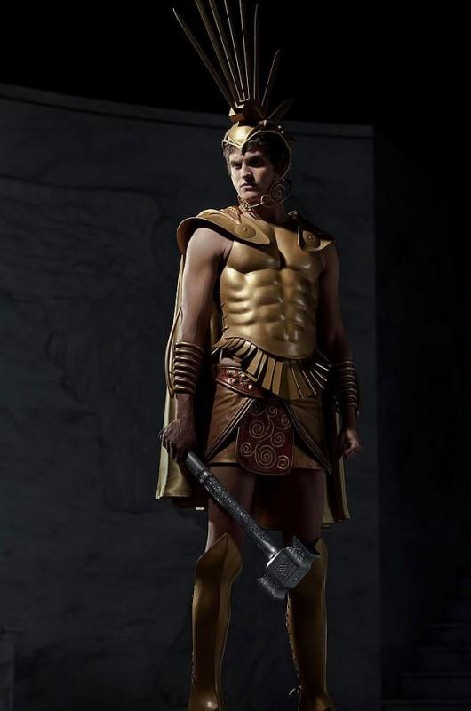 Daniel Sharman è Ares in Immortals 3D