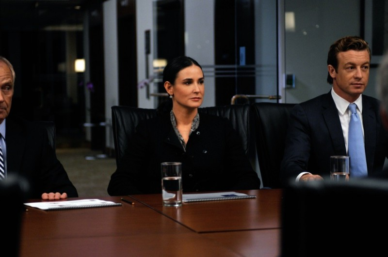 Demi Moore in Margin Call accanto a Simon Baker