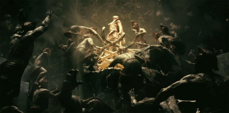 Immortals 3D: Henry Cavill in un'immagine del film
