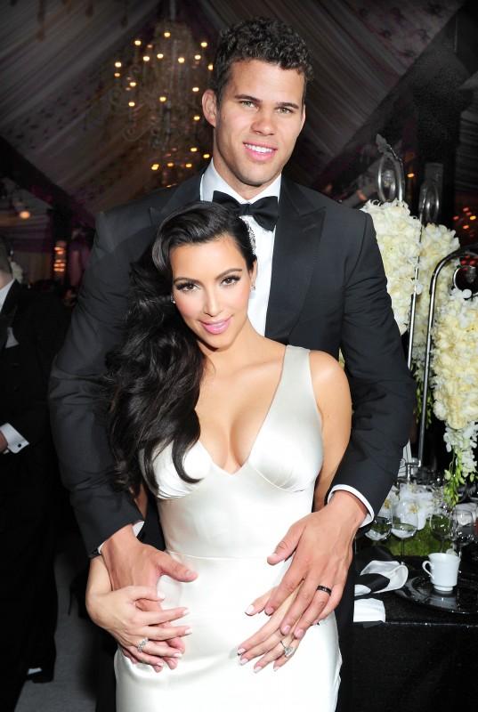 Kim's Fairytale Wedding: A Kardashian Event - Kim Kardashian con Kris Humphries nel giorno delle loro nozze